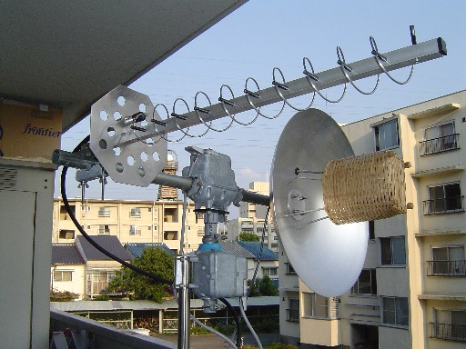 My antenna setup